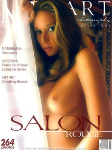 112 MetArt members tagged Veronika C and naked pictures gallery Salon Rouge 'girl on girl'