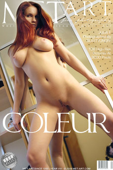 59 MetArt members tagged Julia F and erotic photos gallery Coleur 'hanging breasts'