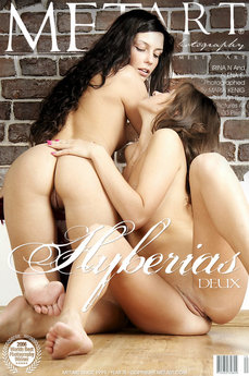 181 MetArt members tagged Alena E & Irina N and nude photos gallery Hyberias 2 'lesbian'