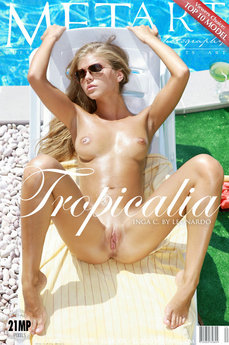 61 MetArt members tagged Inga C and nude photos gallery Tropicalia 'pee'