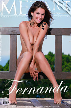 Met Art Presenting Fernanda erotic photos gallery with MetArt model Fernanda