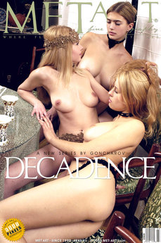 MetArt Jd & Nikita B & Vika R in Decadence