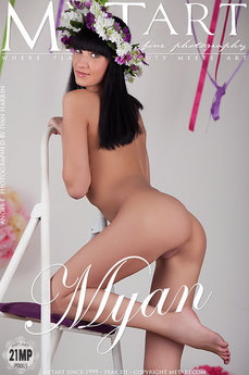 57 MetArt members tagged Angel E and erotic photos gallery Myan 'small breasts'