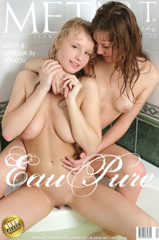 232 MetArt members tagged Katya T & Natasha P and erotic photos gallery Eau Pure 'curvy'