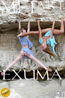MetArt Uliya A & Vika A in Exuma