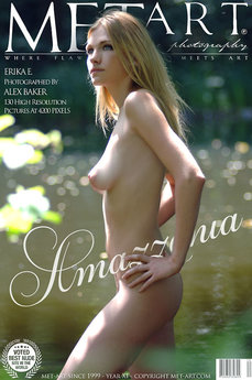 13 MetArt members tagged Erika E and erotic images gallery Amazzonia 'nice vulva'