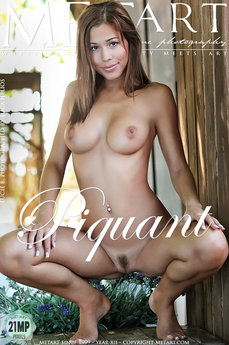 MetArt Gallery Piquant with MetArt Model Lucie B