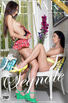 73 MetArt members tagged Elle D & Helen H and nude photos gallery Segnale 'sensual'
