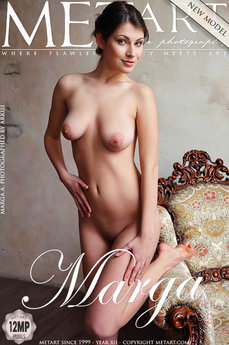 MetArt Gallery Presenting Marga with MetArt Model Marga A