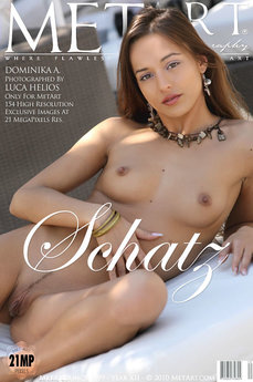 212 MetArt members tagged Dominika A and nude photos gallery Schatz 'hard nipples'