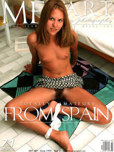 MetArt Gallery Real Spanish Amateur with MetArt Model Clarissa