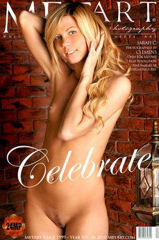 MetArt Sarah C in Celebrate