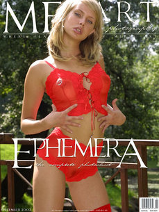 MetArt Gallery Ephemera with MetArt Model Koika