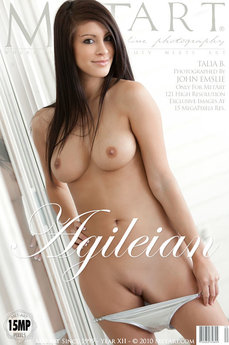 MetArt Gallery Agileian with MetArt Model Talia B