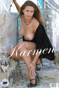 5 MetArt members tagged Karmen B and nude pictures gallery Presenting Karmen 'milf art'