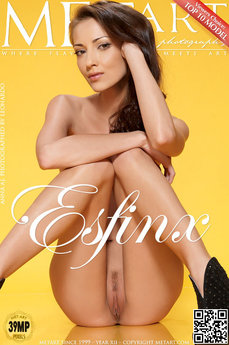 284 MetArt members tagged Anna AJ and erotic photos gallery Esfinx 'perfect'