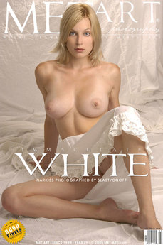 MetArt Gallery Immaculate White with MetArt Model Narkiss