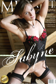 91 MetArt members tagged Sabyne A and erotic photos gallery Presenting Sabyne 'lingerie'