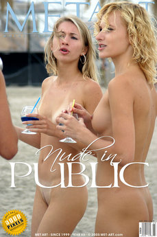 MetArt Multiple Model  Set Photo Gallery Nude In Public -the Photo Shoot by Roman Kour