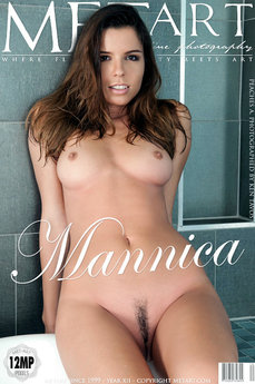 6 MetArt members tagged Peaches A and erotic photos gallery Mannica 'bathtub'